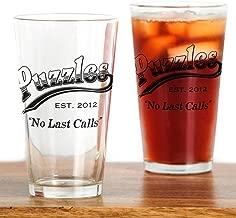 CafePress Puzzles Bar Pint Glass, 16 oz. Drinking Glass