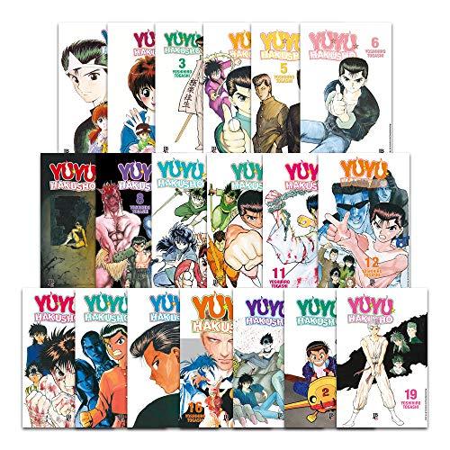 Coleção Yu Yu Hakusho - Volumes 1 Ao 19