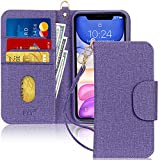FYY Case for iPhone 11, [Kickstand Feature] Luxury PU Leather Wallet Case Flip...
