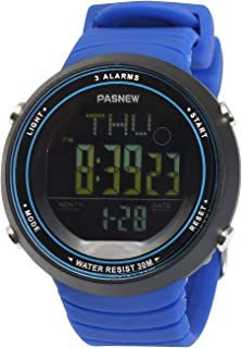 Kid's Digital Sports Watch Water-Resistant Outdoor Daily Wristwatch for Girls and Boys