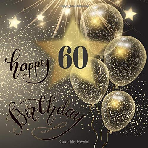 70th Birthday Guest Book Black and Gold Message Book and Gift Log For Party Celebration and Keepsake Memories