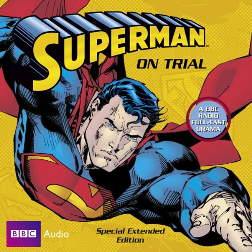 Superman on Trial audiobook cover art