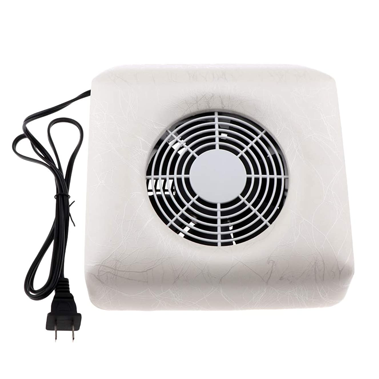バドミントンプレミア請求可能CUTICATE ネイルダストコレクター ネイルアート集塵機 掃除機 全4色 - 白