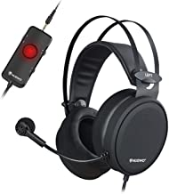 هدست NUBWO PS4 Xbox one Headset 7.1 Surround Sound PC USB با هدفون کاهش صدا ، هدفون بالای گوش با کنترل صدا و گپ صدا برای رایانه / پلی استیشن 4 / Xbox 1