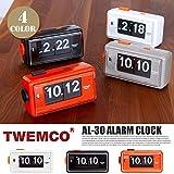 AL-30 ALARM CLOCK(アラームクロック) パタパタクロック TWEMCO(トゥエンコ) グレー