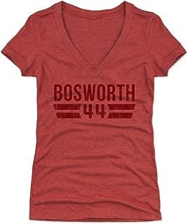 500 LEVEL Brian Bosworth Women's Shirt - Vintage Oklahoma Football Shirt for Women - Brian Bosworth Font