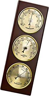 Baosity Barometer Thermometer Hygrometer Wall Hanging Temperature Humidity Monitor Atmospheric Pressure Meter for Home use