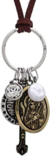Rosemarie Collections Women's Saint Philomena Holy Medal Pendant Necklace