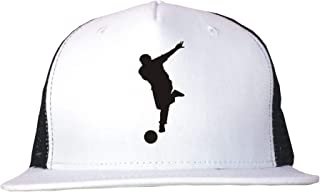 Bowler Rolling Ball Bowling Logo Trucker Hat Cap Adjustable Black/White