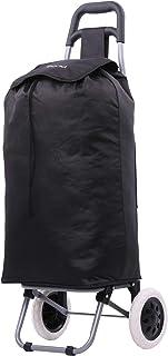 comprar comparacion Carretilla de Compras Liviana, Carros Plegables/desplegables de Moda/Plegables (Negro)