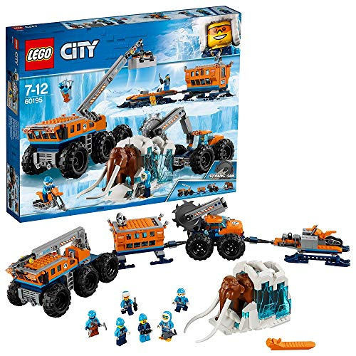 LEGO City- Base Mobile di Esplorazione Artica,...