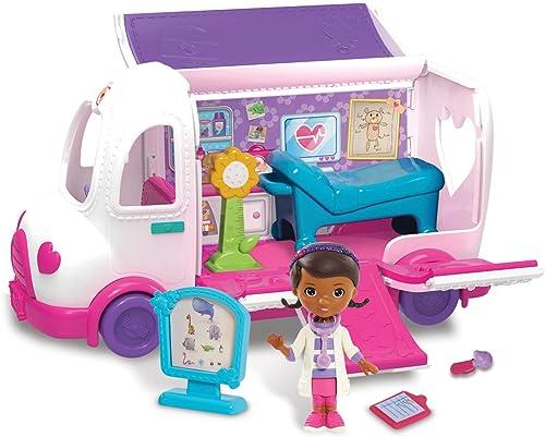 barato y de alta calidad Flair Doc McStuffins McStuffins McStuffins Mobile Ambulance  marca en liquidación de venta