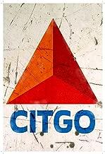 6Polar Bear& Metal Iron Painting 8X12 INCH TIN Sign Citgo Gas Oil Gas Station Pump Garage Auto Shop Rustic Metal Decor B124