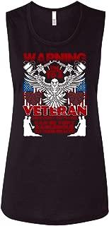 Married to A Veteran Flowy Muscle Tank Top, Very Dangerous T Shirt