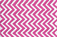 The Rug Market Chevron Pink Children's Area Rug, 2.8' x 4.8' by The Rug Market