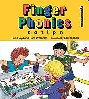 Finger Phonics Book 1 (Jolly Phonics: Finger Phonics) (S,A,T,I,P,N)