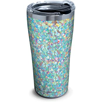 Amazon Com Tervis Modern Botanical Stainless Steel Insulated Tumbler With Lid 20 Oz Silver Tumblers Water Glasses