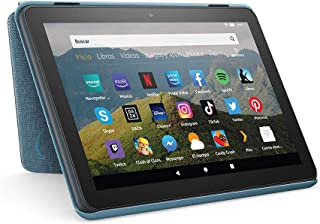 Amazon Funda para tablet Fire HD 8 (compatible con el tablet de 10.ª generación, modelo de 2020), añil