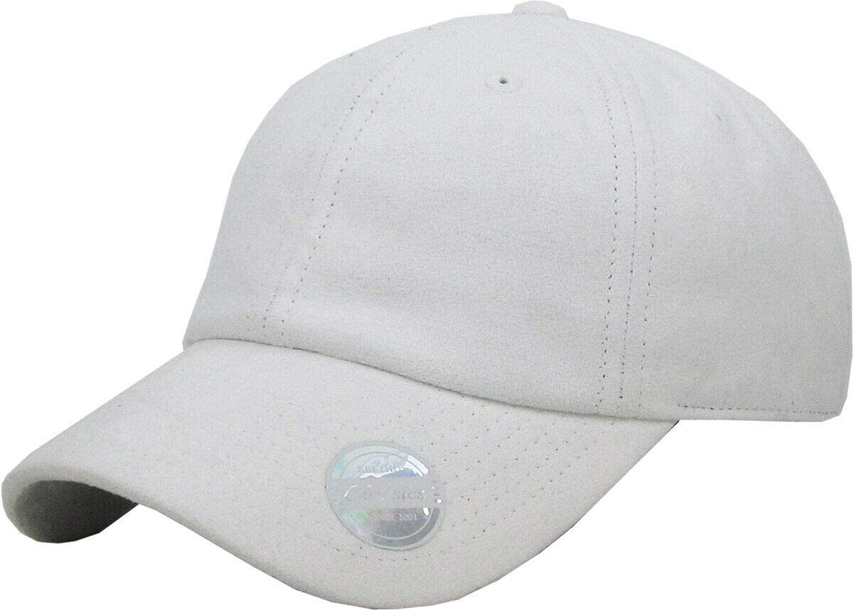 White Direct stock discount 6 Import Panel Suede Dad Hat Pla Soft Adjustable Classic Baseball