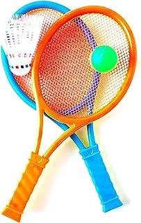 baff0cc25 Wilk 1 Juego de Tenis Raqueta de bádminton de Juguete para ni?os Raquetas de