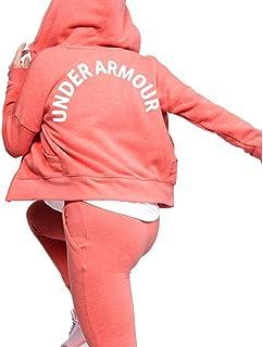 سويت شيرت بسحاب كامل للفتيات من Under Armour