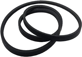 Wadoy M126536 Deck Belt Replacement for John Deere Mower Deck Drive Belt M126536 LT133 LT150 LT155 LT160 LT166 LT180 with 38