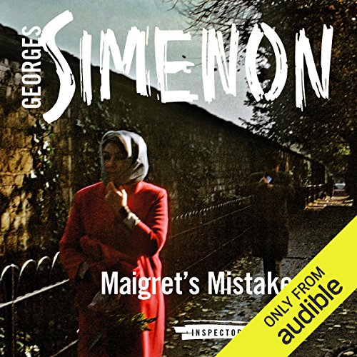 Maigret's Mistake audiobook cover art