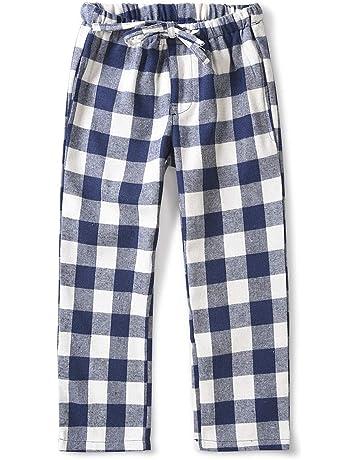 Divas World Multicoloured Check Lounge Pants Girls and Boys Soft Cotton Bottom Pyjamas