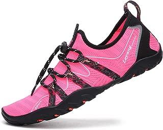 Leyang Womens Mens Water Shoes Quick Dry Barefoot for Swim Beach Surf Diving Pool Walking Yoga Aqua Aerobics Sports