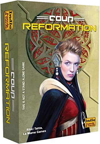 Coup Reformation Stratergy Game, Pack of 1