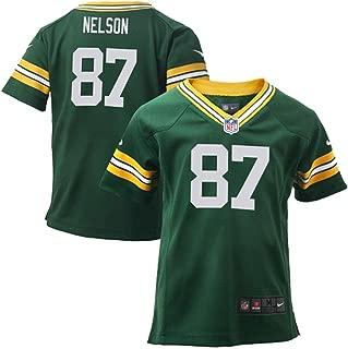 Jordy Nelson Green Bay Packers NFL Kids Green Home On-Field Jersey