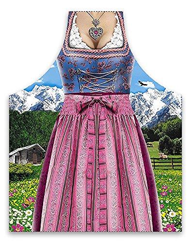 Tablier de Cuisine Dirndl Costume tyrolien