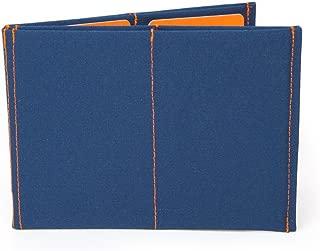 SlimFold Minimalist Wallet - RFID Option - Thin, Durable, and Waterproof Guaranteed - Made in USA - Original Size