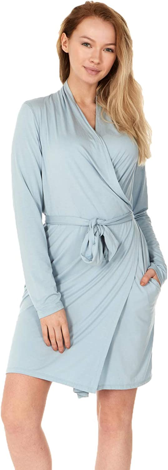 X America shopping Junior and Plus Size Women 1 year warranty Robes Pockets with for