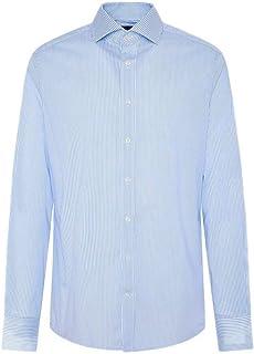 Hackett London Stretch Stripe BC Camisa de los Hombres