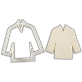 Karate Uniform Gi Cookie Cutter - LARGE - 4 Inches