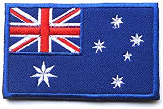 ShowPlus Flag Patch Military Embroidered Tactical Patch Australia