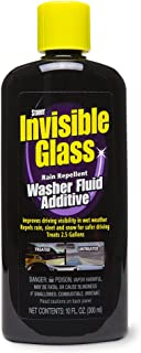 Invisible Glass Premium Glass Cleaner with Rain Repellent Washer Fluid Additive - 10 oz, 91491
