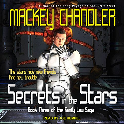 Secrets in the Stars audiobook cover art