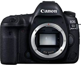 Canon EOS 5D Mark IV 30.4MP Digital SLR Camera (Black) with Body Only