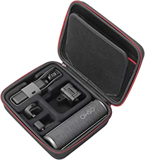 RLSOCO Carrying Case for DJI Osmo Pocket 2 & 1 and Osmo Pocket Charging Case (Osmo Pocket Charging Cradle) and Fimi Palm