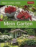 Mein Garten Wissenskalender. Tischkalender 2020. Tageskalendarium. Blockkalender. Format 12,5 x 16 cm