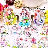 PMSMT 15pcs Kawaii niedlichen selbst gemachten Daily Forest Mädchen Aufkleber/ dekorative...