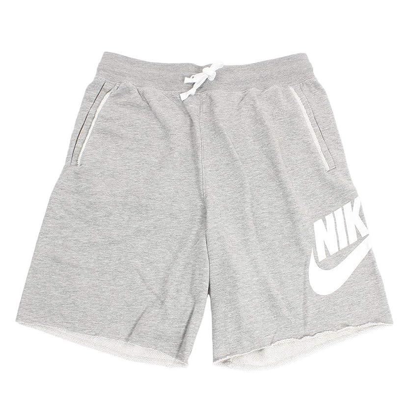 戦士タップ汚す(ナイキ) Nike ウェア ショーツ バスパン FT Alumni Short D.G.Heather/Wht バスケットボール ランニング トレーニング ストリート M