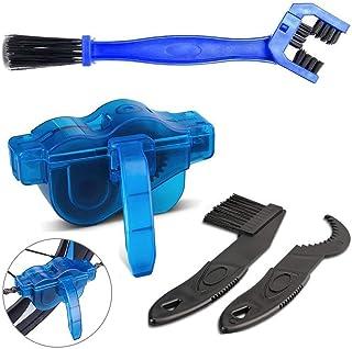 CHERRY HOME Kit de limpieza de cadena de bicicleta, limpiador de cadena de bicicleta profesional, accesorios de limpieza p...