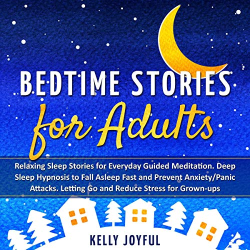 Bedtime Stories for Adults audiobook cover art