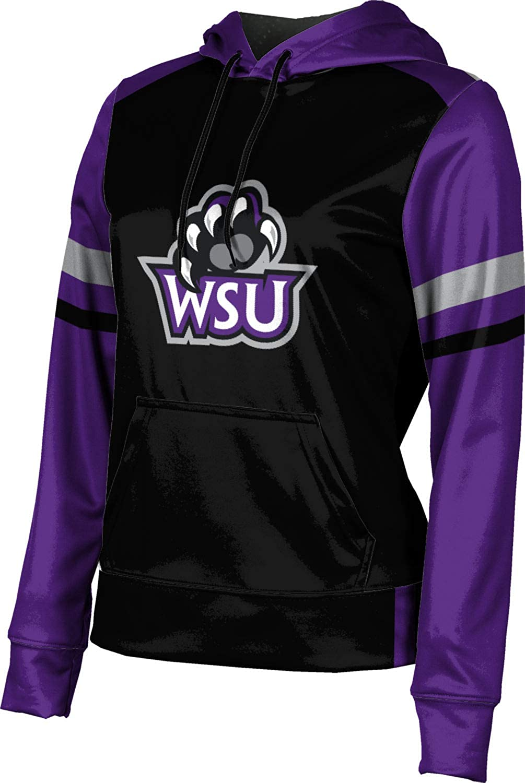 Weber State University Girls' Pullover Hoodie, School Spirit Sweatshirt (Old School)
