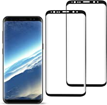[2 Pack] YRMJK Galaxy S8 Screen Protector,[Anti-Fingerprint][No-Bubble][Scratch-Resistant][Tempered Glass Screen Protector for Samsung Galaxy S8(NOT S8 Plus)