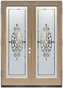 Glass Front Entry Door Sans Soucie Art Glass Barcelona