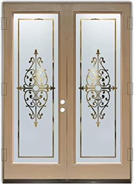 Glass Front Entry Door Sans Soucie Art Glass Barcelona